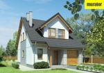 Проект одноэтажного дома с мансардой  - Муратор М148